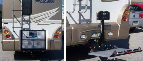 Harmar AL300RV wheelchair & scooter carrier for Recreational Vehicles